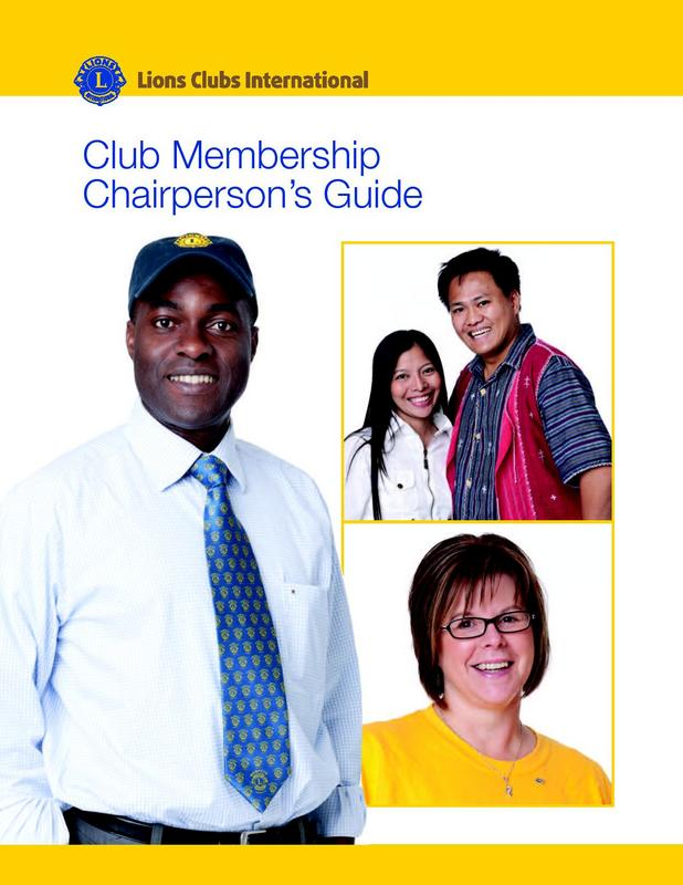 Club Membership Chairperson Guide