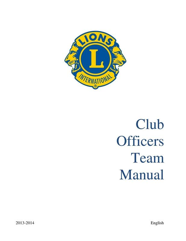Club Officers Team Manual