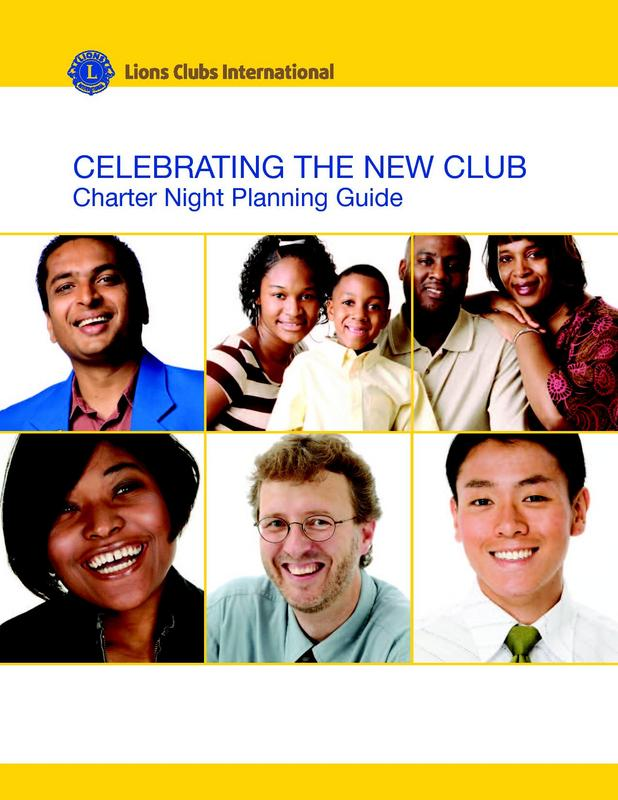 Charter Night Planning Guide