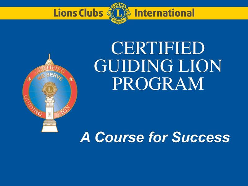 Guiding Lion Power Point
