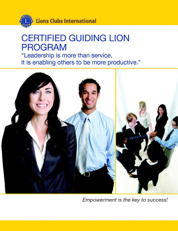 Certified Guiding Lion Course Work Book
