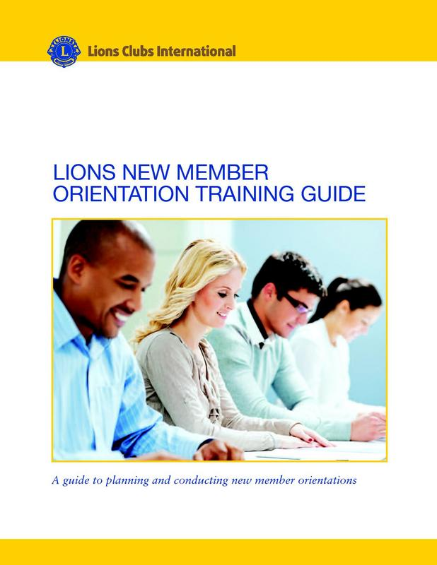 New Member Orientation Guide